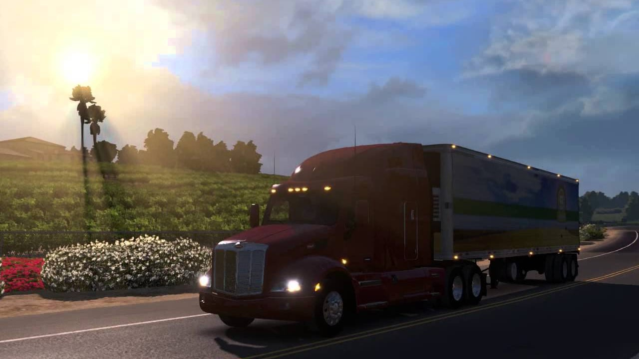 American Truck Simulator » FREE DOWNLOAD | CRACKED-GAMES.ORG