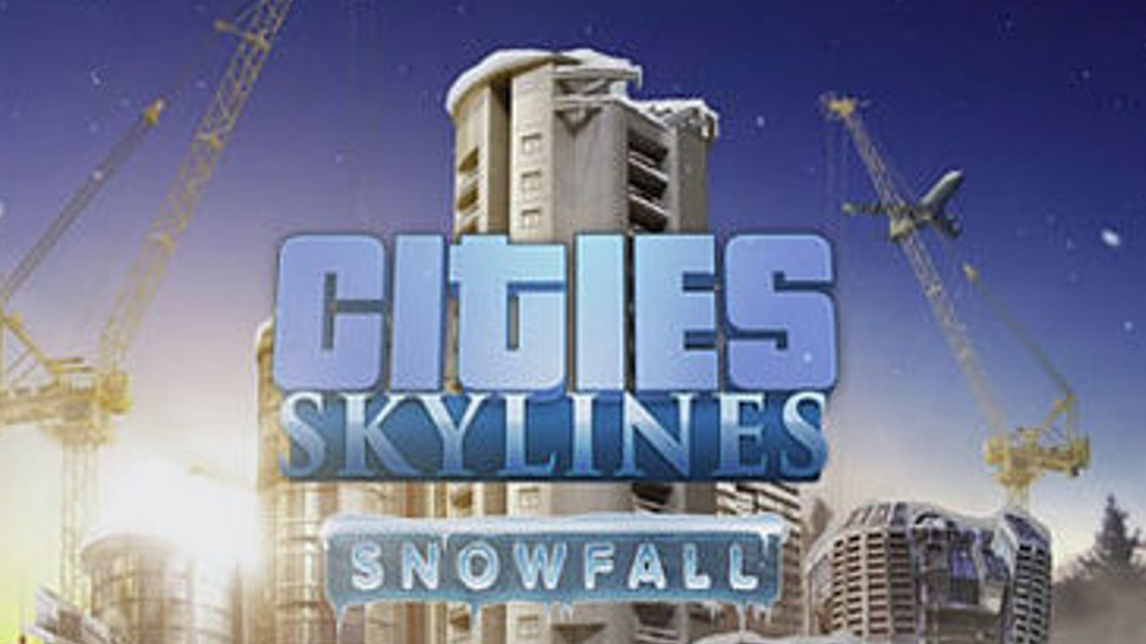 Citie Skylines Snowfall