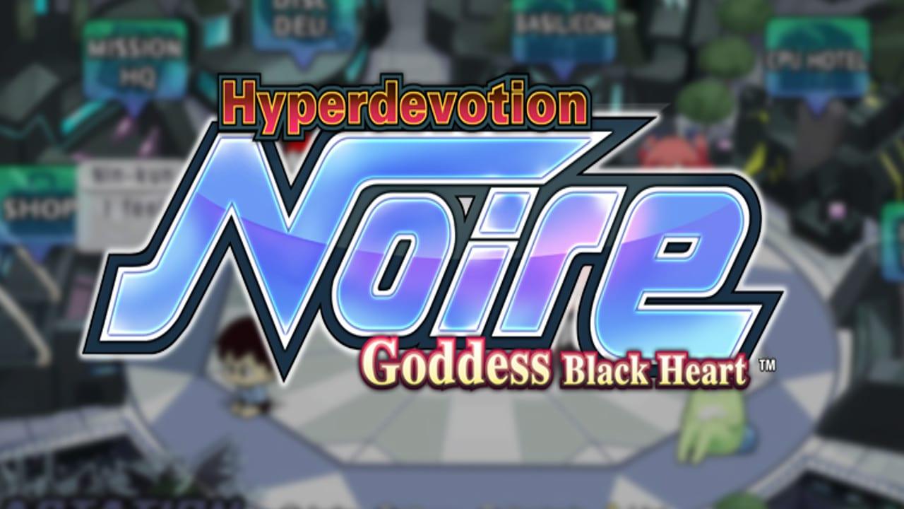 Hyperdevotion Noire Goddess Black Heart