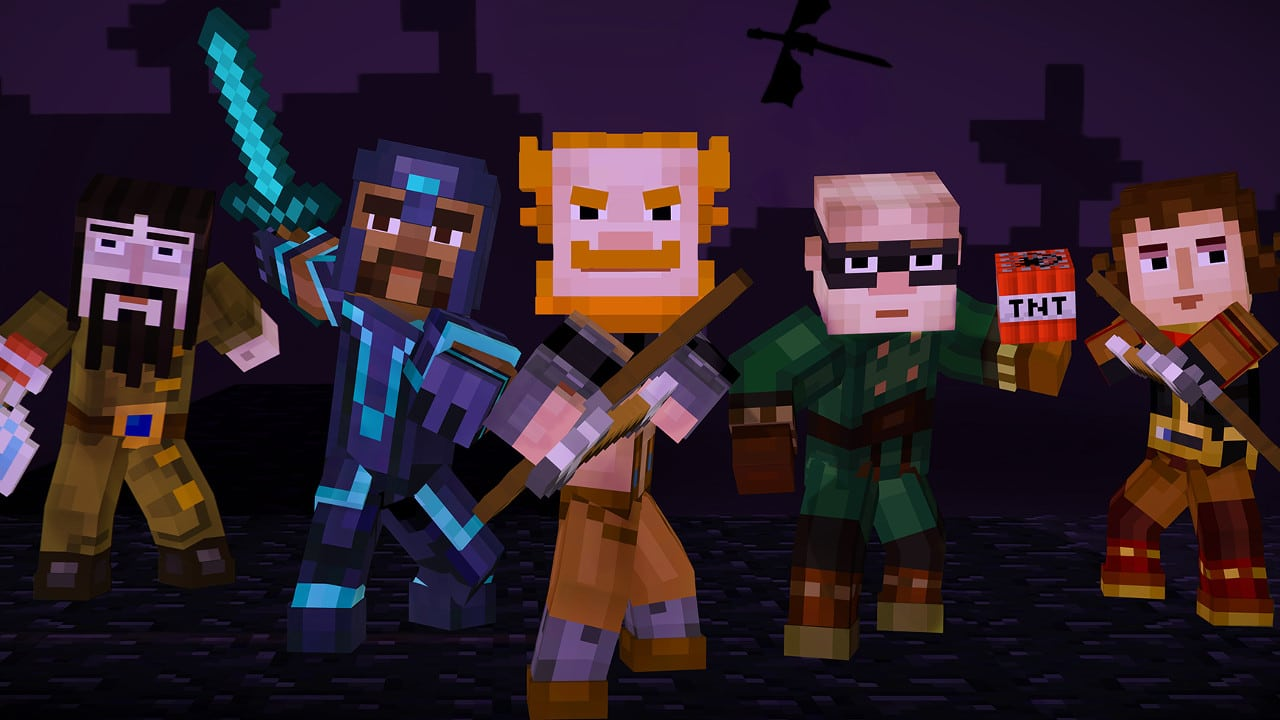 Minecraft STORY MODE FREE DOWNLOAD CRACKEDGAMESORG - Minecraft ender games kostenlos spielen