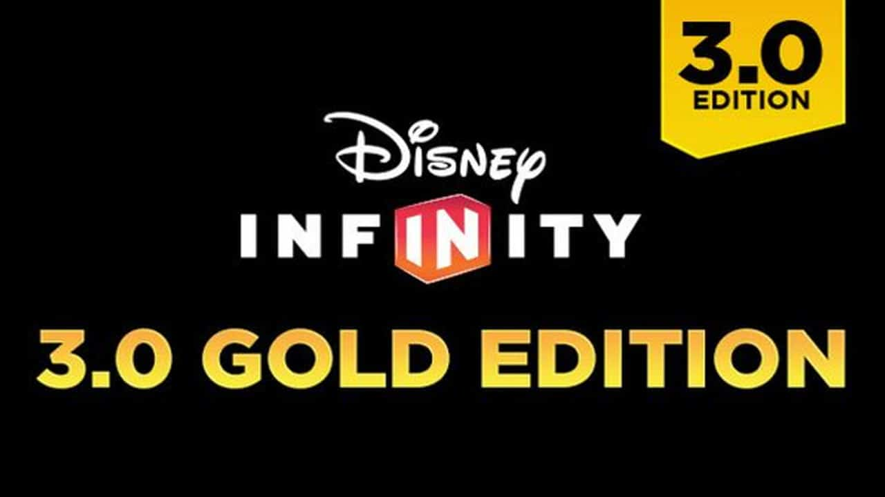 Disney Infinity 3.0 Gold Editionnew