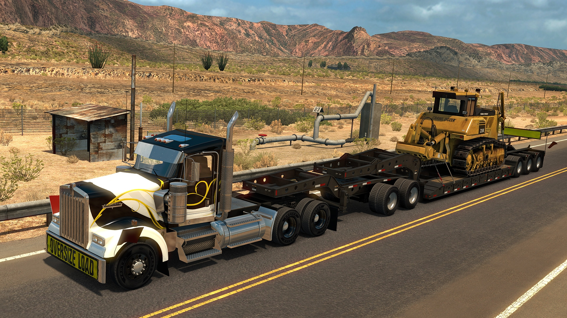 american truck simulator heavy cargo pack free. Black Bedroom Furniture Sets. Home Design Ideas