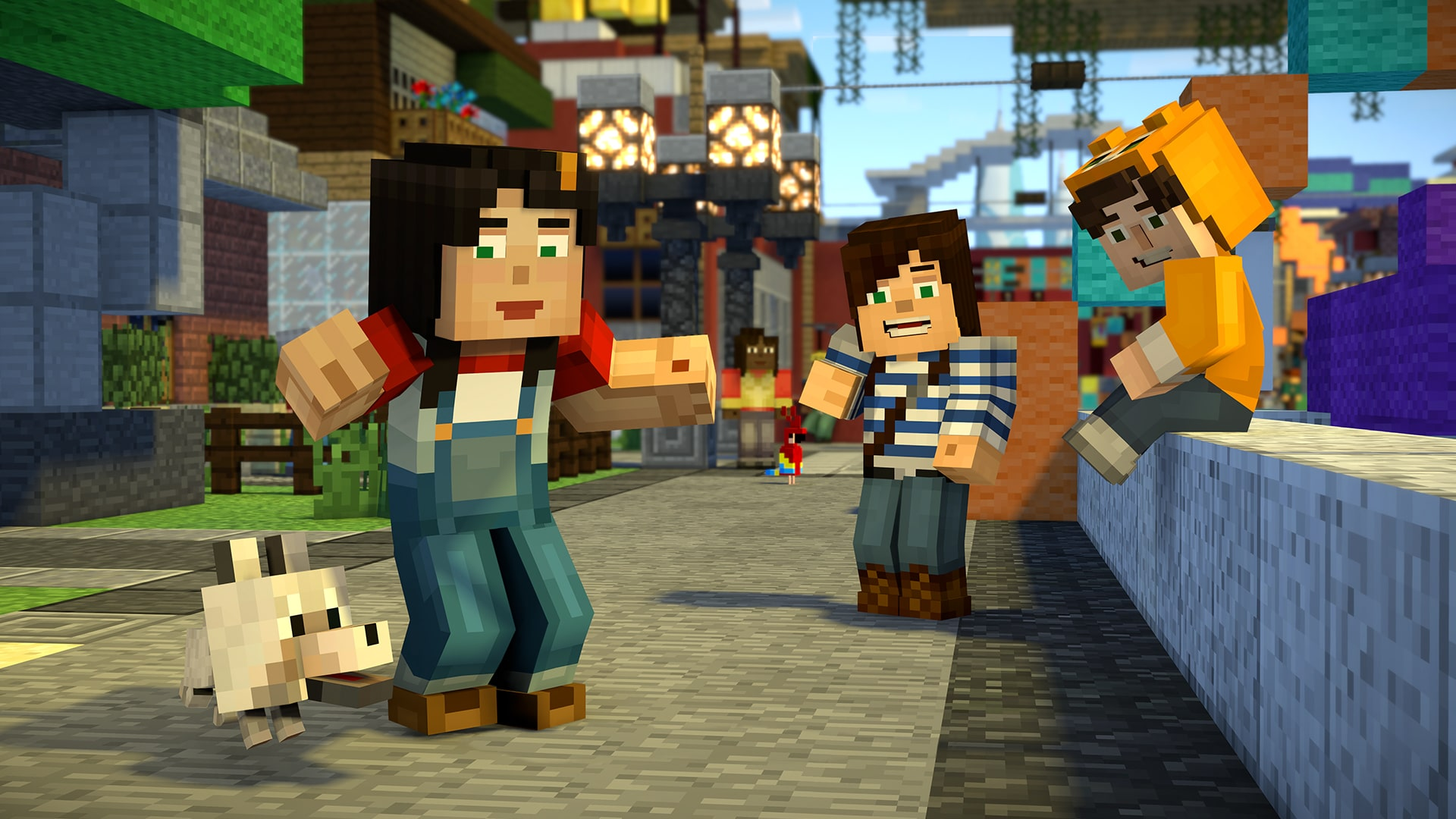 Minecraft Story Mode Season Two FREE DOWNLOAD CRACKEDGAMESORG - Minecraft spielen download