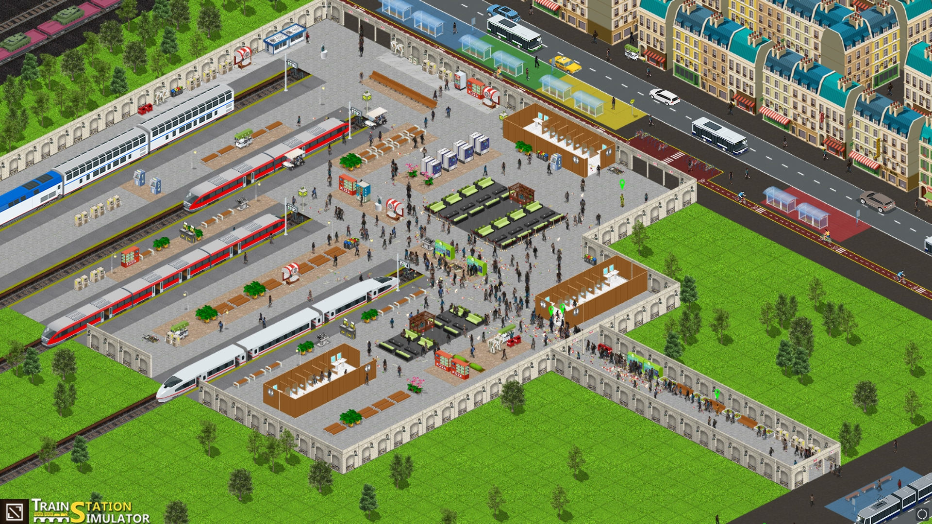 Train Station Simulator - FREE DOWNLOAD | CRACKED-GAMES.ORG