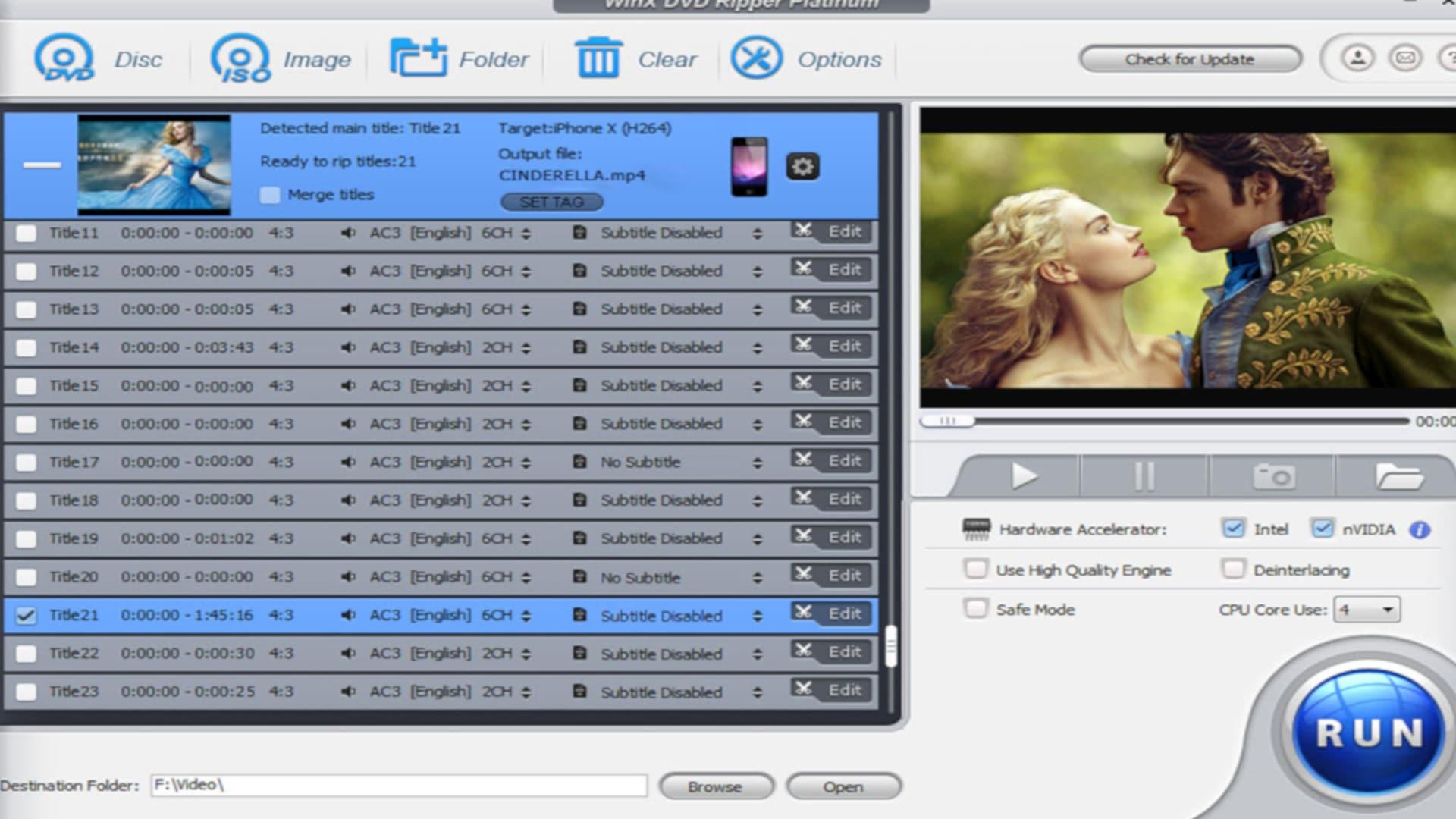 WinX DVD Ripper Platinum Torrent Archives
