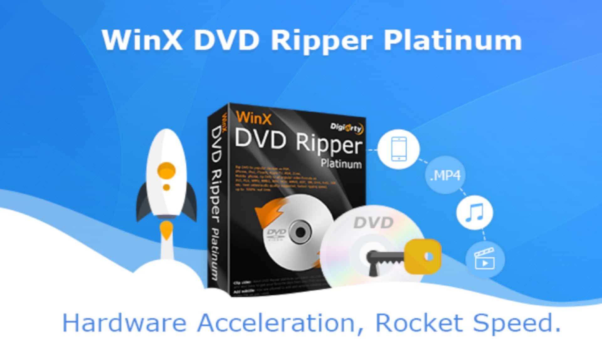 In meinem Test bewerte ich WinX DVD Ripper Platinum. Unterstützt werden diverse Video-Formate und sogar der Kopierschutz lässt sich umgehen.
