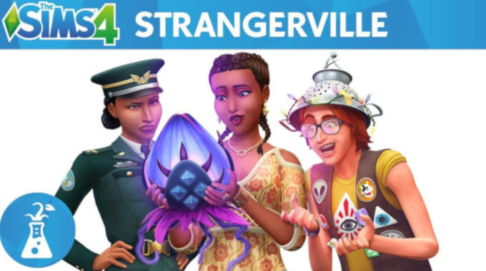 The Sims 4 StrangerVille free
