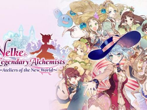 Nelke the Legendary Alchemists Ateliers of the New World