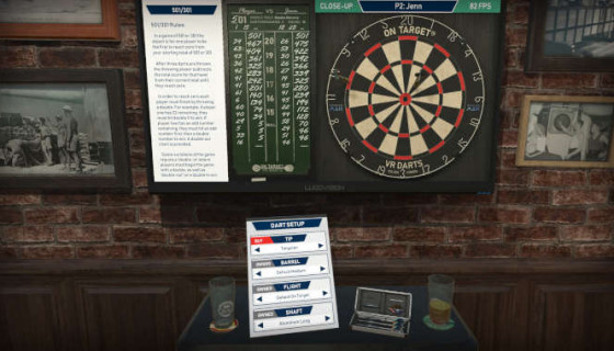 On Target VR Darts free download