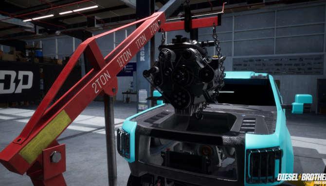 Diesel Brothers Truck Building Simulator free download