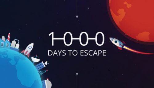1000 days to escape free