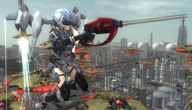 EARTH DEFENSE FORCE 5 cracked