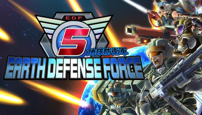 EARTH DEFENSE FORCE 5 free