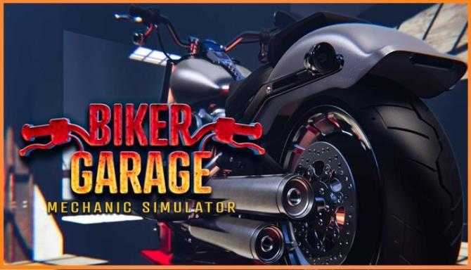 Biker Garage Mechanic Simulator