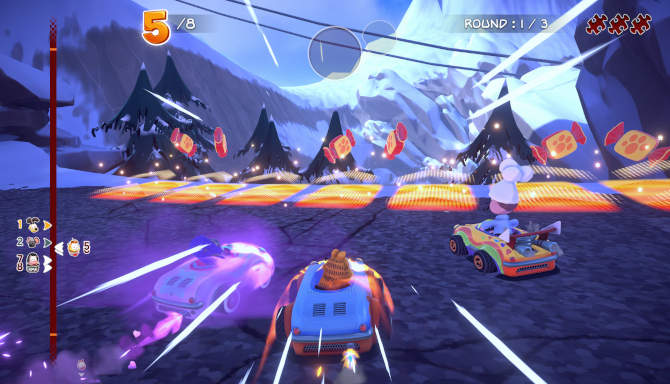 Garfield Kart Furious Racing free download