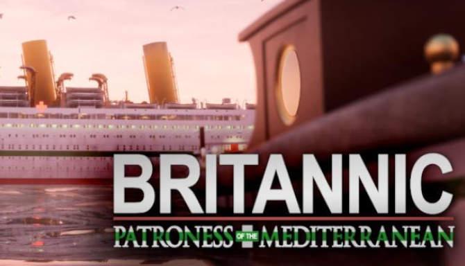 Britannic Patroness of the Mediterranean free