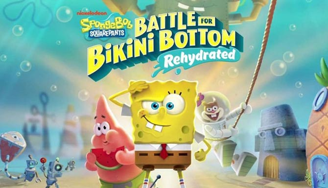 SpongeBob SquarePants Battle for Bikini Bottom Rehydrated free