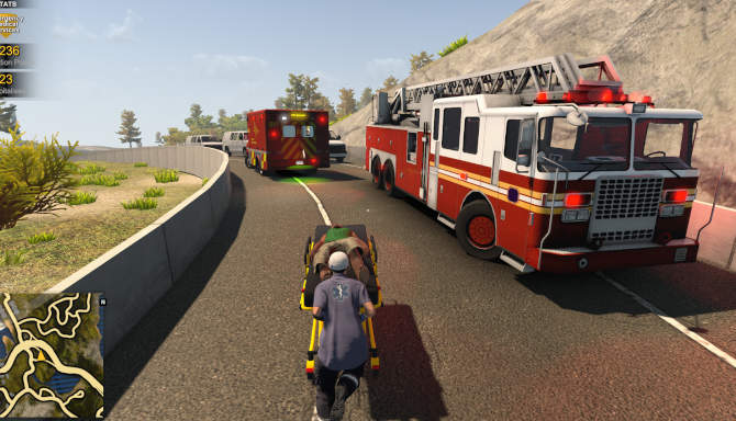 Flashing Lights Police Firefighting Emergency Services Simulator for free