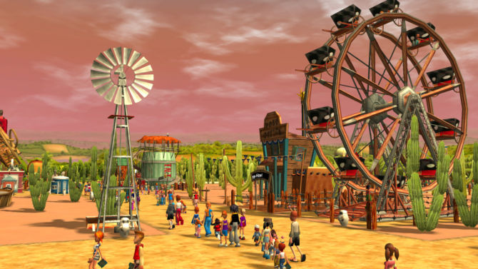 RollerCoaster Tycoon 3 Complete Edition for free
