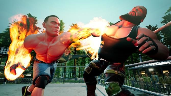 WWE 2K BATTLEGROUNDS free cracked