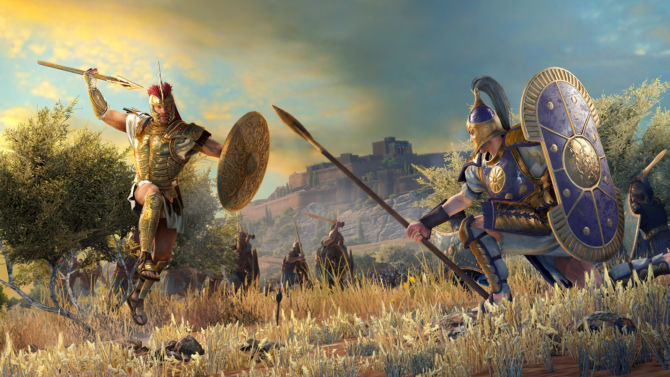 Total War Saga TROY for free
