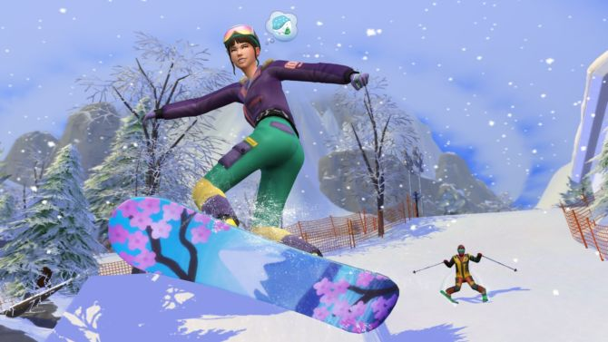 The Sims 4 Snowy Escape cracked