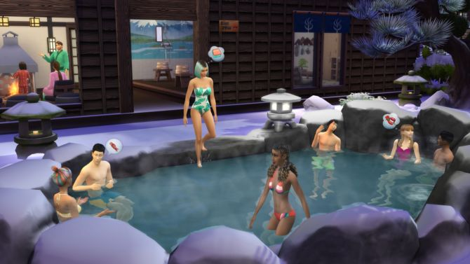 The Sims 4 Snowy Escape for free