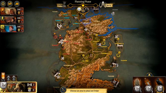 A Game of Thrones The Board Game Digital Edition cracked