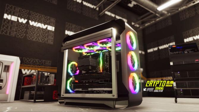 Crypto Mining Simulator cracked