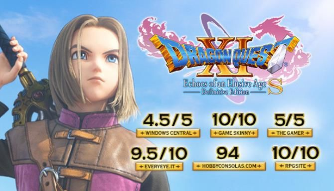 DRAGON QUEST XI S Echoes of an Elusive Age Definitive Edition Free