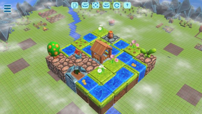 Floating Farmer Logic Puzzle free download