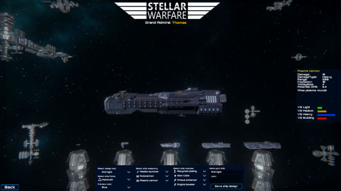 Stellar Warfare free cracked