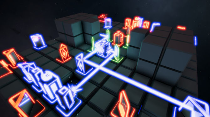 LASER CHESS Deflection cracked